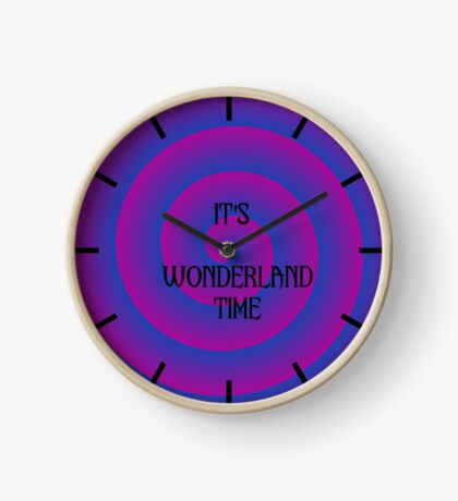 Wonderland Clock Clock