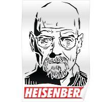 Breaking Bad: Heisenberg - Obey style Poster
