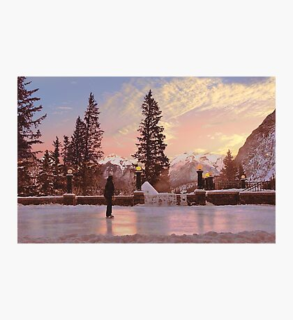 Lone Skater Photographic Print