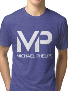 The M Phelps Tri-blend T-Shirt