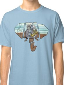 Elephant French Horn Classic T-Shirt