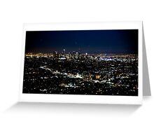 Los Angeles 2 Greeting Card