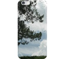 When Marshmellow Clouds Decided to Touch the Earth iPhone Case/Skin