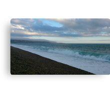 Choc & Mint of the sea Canvas Print