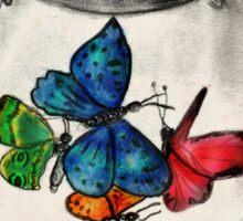 Jar of Butterflies Sticker