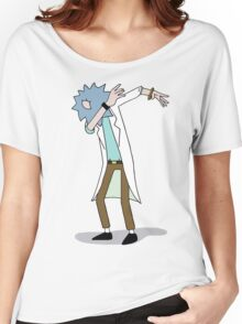 Wubba Lubba Dab Dab Rick No Background Women's Relaxed Fit T-Shirt