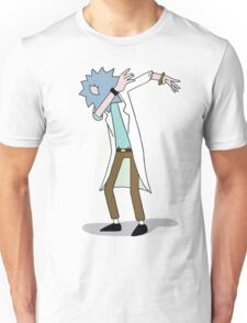 Wubba Lubba Dab Dab Rick No Background Unisex T-Shirt
