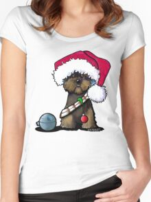 A Very Chewie Christmas T-Shirt Women's Fitted Scoop T-Shirt