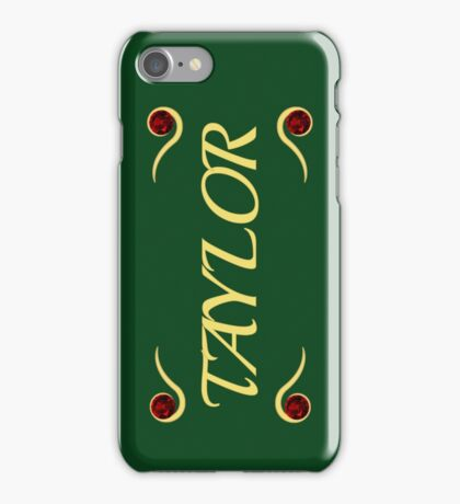Taylor iPhone Case/Skin
