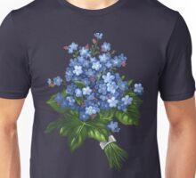 Forget-me-not - acrylic Unisex T-Shirt