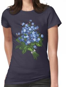 Forget-me-not - acrylic Womens Fitted T-Shirt