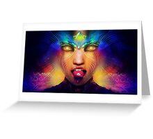 Acid trip Greeting Card