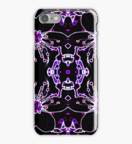 Neon Cherry Blossom iPhone Case/Skin
