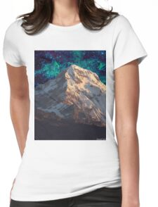 Mountain 3 Womens Fitted T-Shirt