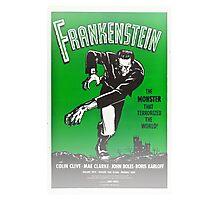 Frankenstein Monster Boris Karloff Design Photographic Print