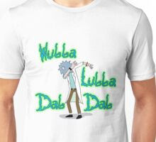 Wubba Lubba Dab Dab Rick with Background Unisex T-Shirt