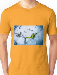 Cryotherapy Ice Climbing Unisex T-Shirt