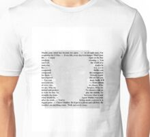 X-Files Quotes - Walter Skinner Unisex T-Shirt