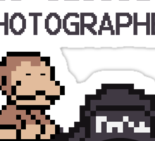 Every Monkey With A Camera Is Called a Photographer Sticker