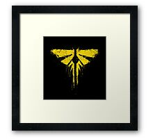 The Last of Us Fireflies Framed Print