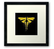 The Last of Us Fireflies Framed Print