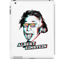 3D Albert Einstein iPad Case/Skin