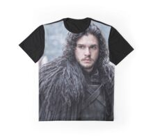 Jon Snow Graphic T-Shirt