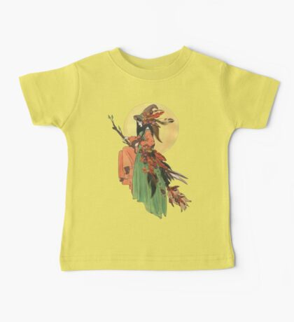 Autumn Witch Baby Tee