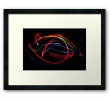 Light Sculpture 20 Framed Print