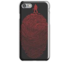 Bloody Fingerprint iPhone Case/Skin