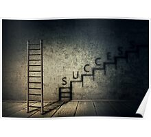 success stairway Poster