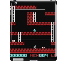 Lode runner Gameplay iPad Case/Skin