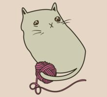 Cat and Yarn T-Shirt