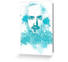 JESSE PINKMAN - QUOTE Greeting Card