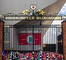 The Shankly Gates - Anfield by Paul Madden