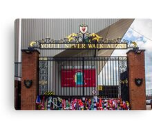 The Shankly Gates - Anfield Canvas Print