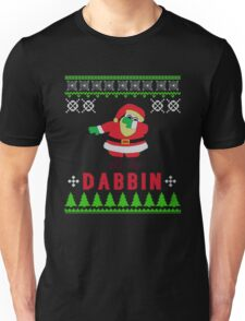 SANTA CLAUS DAB UGLY CHRISTMAS SWEATER Unisex T-Shirt