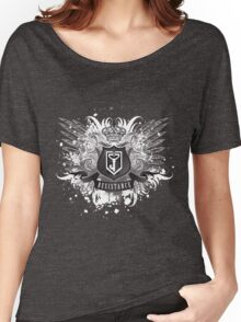 Resistance Royal Blue Women's Relaxed Fit T-Shirt