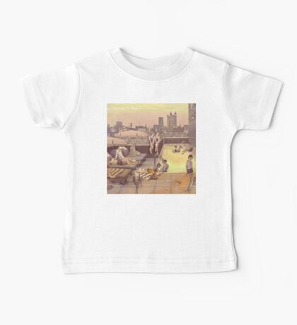 Rusty Art Déco Rooftop Chillout Baby Tee