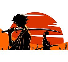 Samurai Champloo by Whitedark