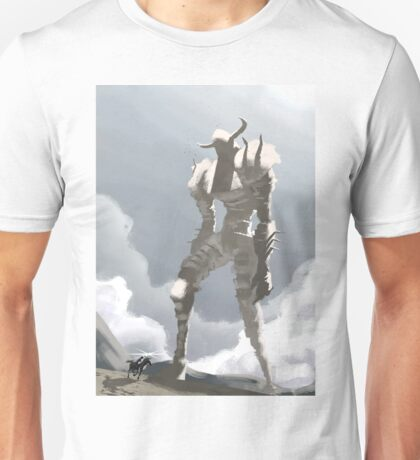 Shadow of the colossus inspired painting Unisex T-Shirt