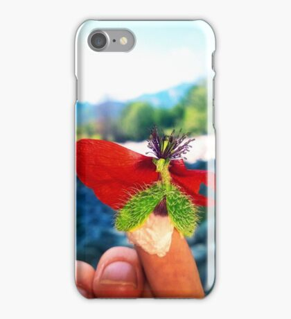 poppy seed queen iPhone Case/Skin