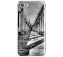 Pillars in Corfu Town iPhone Case/Skin