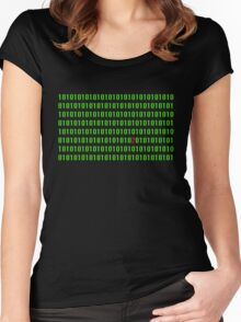 Digital nightmare Women's Fitted Scoop T-Shirt