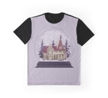 It's Christmas Time - Pixel Art Snow Globe Graphic T-Shirt