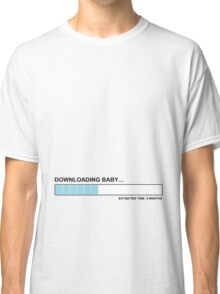 Downloading baby Classic T-Shirt