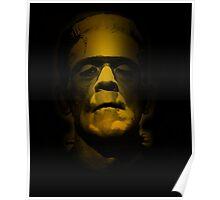 Frankenstein Monster Boris Karloff Design Poster