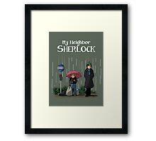 My Neighbor Sherlock Framed Print