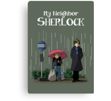 My Neighbor Sherlock Canvas Print
