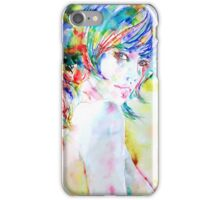 GIRL with BRAID iPhone Case/Skin